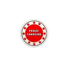 Proud Canadian Mini Button