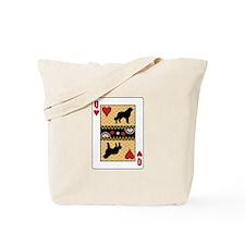 Queen Caucasian Tote Bag