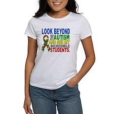 Look Beyond 2 Autism Students Tee