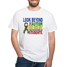 Look Beyond 2 Autism Students Shirt