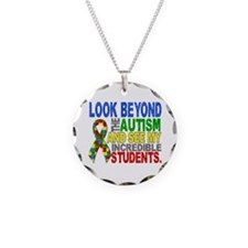 Look Beyond 2 Autism Student Necklace
