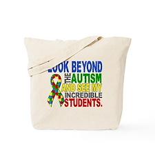Look Beyond 2 Autism Students Tote Bag