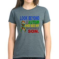 Look Beyond 2 Autism Son Tee