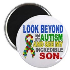 Look Beyond 2 Autism Son Magnet
