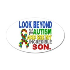 Look Beyond 2 Autism Son Wall Decal