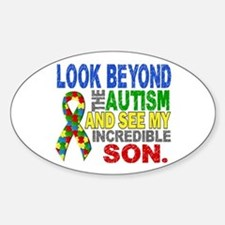 Look Beyond 2 Autism Son Decal