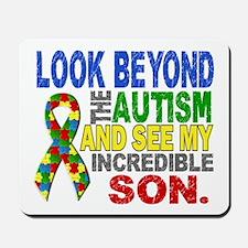 Look Beyond 2 Autism Son Mousepad