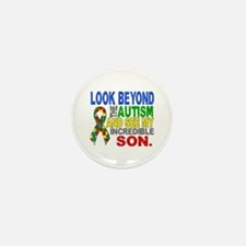 Look Beyond 2 Autism Son Mini Button (100 pack)
