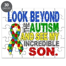 Look Beyond 2 Autism Son Puzzle