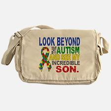 Look Beyond 2 Autism Son Messenger Bag