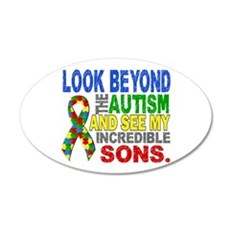 Look Beyond 2 Autism Sons Wall Decal