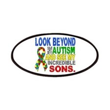 Look Beyond 2 Autism Sons Patches