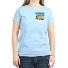 Look Beyond 2 Autism Sons T-Shirt