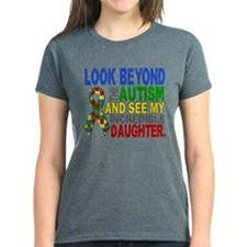 Look Beyond 2 Autism Daughter Tee