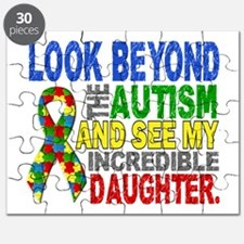 Look Beyond 2 Autism Daughter Puzzle
