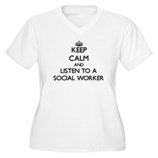 Keep Calm and Listen to a Social Worker Plus Size