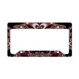 Brown License Plate Frames
