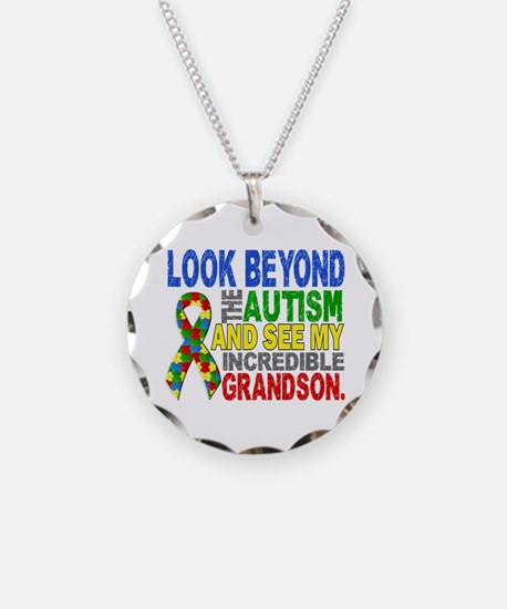Look Beyond 2 Autism Grandso Necklace