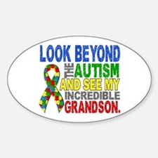 Look Beyond 2 Autism Grandson Decal