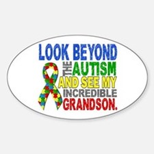 Look Beyond 2 Autism Grandson Decal