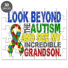 Look Beyond 2 Autism Grandson Puzzle