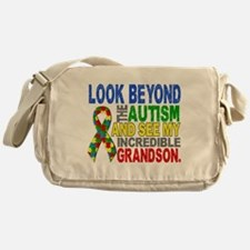Look Beyond 2 Autism Grandson Messenger Bag
