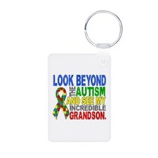 Look Beyond 2 Autism Grand Keychains