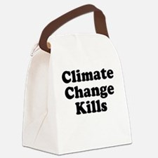 Climate Change Kills Canvas Lunch Bag