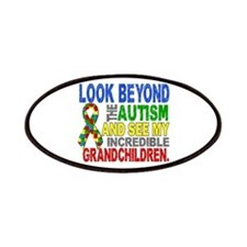 Look Beyond 2 Autism Grandchildren Patches
