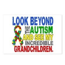 Look Beyond 2 Autism Gran Postcards (Package of 8)