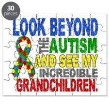 Look Beyond 2 Autism Grandchildren Puzzle