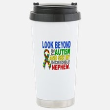 Look Beyond 2 Autism Ne Stainless Steel Travel Mug