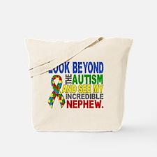 Look Beyond 2 Autism Nephew Tote Bag