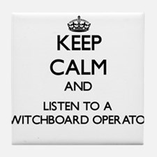 Keep Calm and Listen to a Switchboard Operator Til