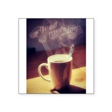 GOOD MORNING, COFFEE Sticker