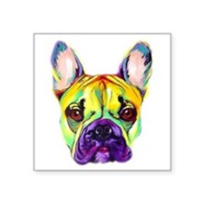 Frenchie #2 Rectangle Sticker
