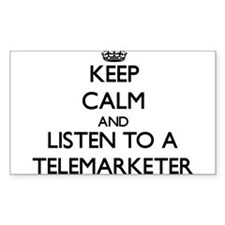 Keep Calm and Listen to a Telemarketer Decal