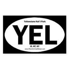 Yellowstone Oval Decal