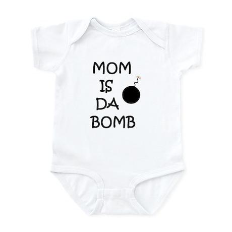 MOM IS DA BOMB Infant Bodysuit