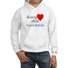 Won My Heart Swedish Meatballs Hoodie
