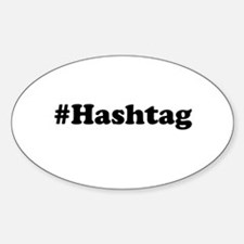 hashtag Decal