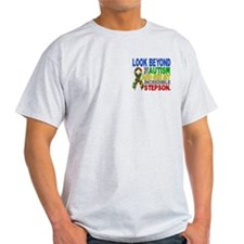 Look Beyond 2 Autism Stepson T-Shirt