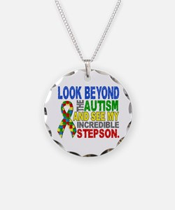 Look Beyond 2 Autism Stepson Necklace