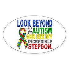 Look Beyond 2 Autism Stepson Decal