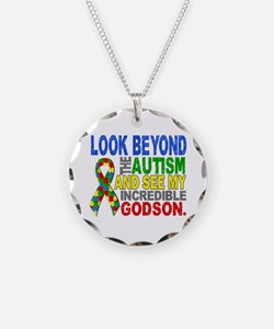 Look Beyond 2 Autism Godson Necklace
