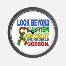 Look Beyond 2 Autism Godson Wall Clock