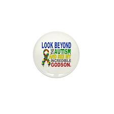 Look Beyond 2 Autism Godson Mini Button (100 pack)