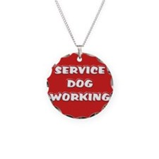 SERVICE DOG WORKING Necklace