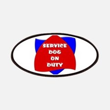 SERVICE DOG ON DUTY Patches