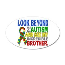 Look Beyond 2 Autism Brother Wall Decal
